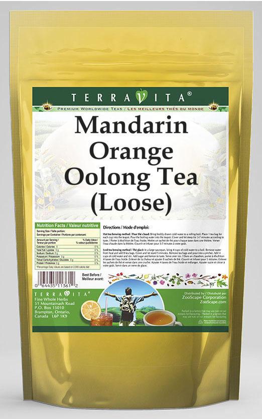 Mandarin Orange Oolong Tea (Loose)