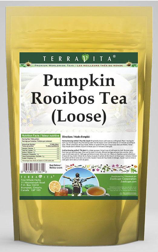 Pumpkin Rooibos Tea (Loose)