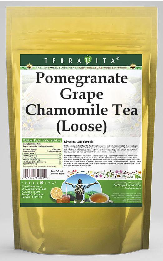 Pomegranate Grape Chamomile Tea (Loose)