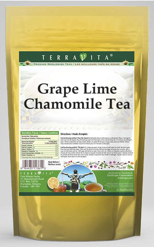Grape Lime Chamomile Tea