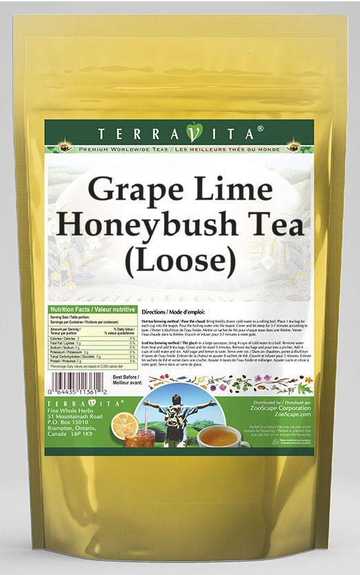 Grape Lime Honeybush Tea (Loose)
