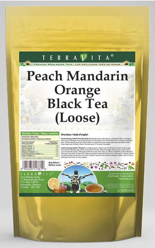 Peach Mandarin Orange Black Tea (Loose)
