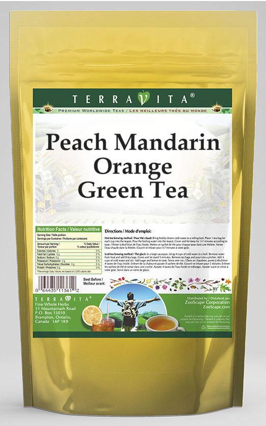 Peach Mandarin Orange Green Tea