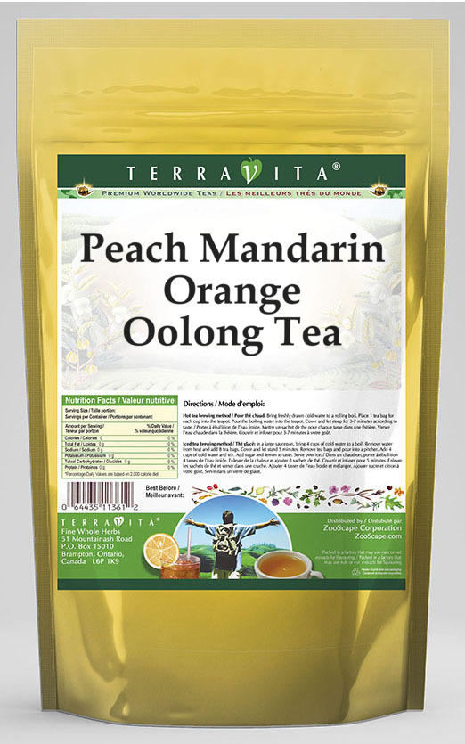 Peach Mandarin Orange Oolong Tea