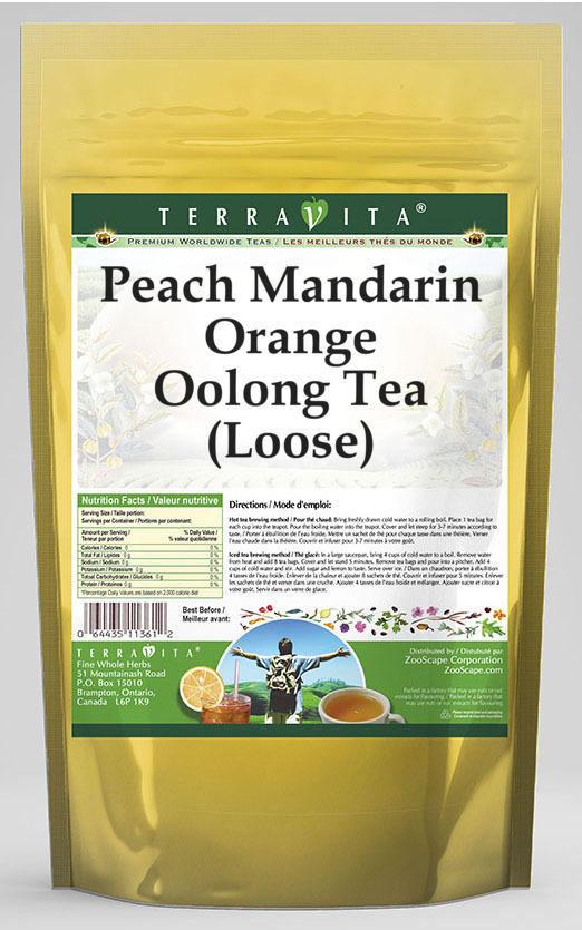 Peach Mandarin Orange Oolong Tea (Loose)