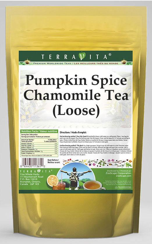 Pumpkin Spice Chamomile Tea (Loose)