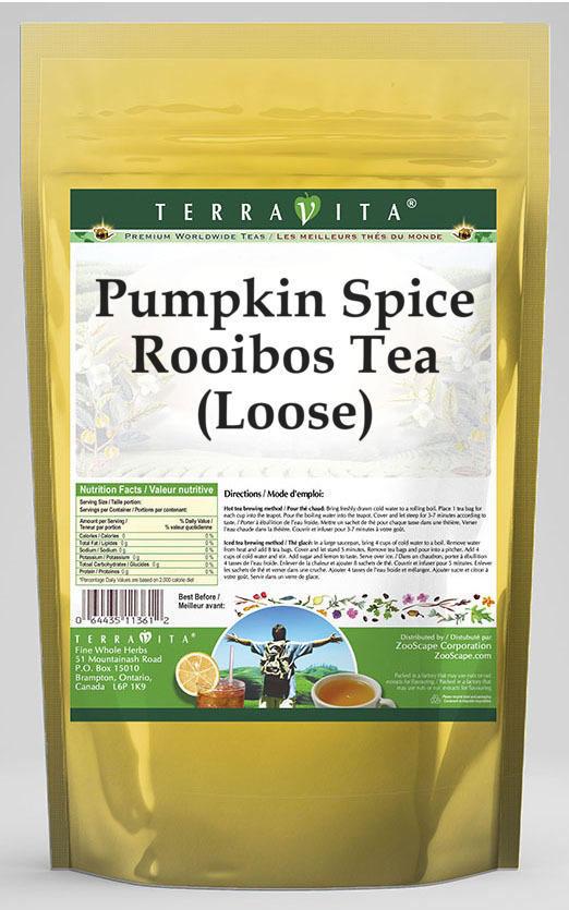 Pumpkin Spice Rooibos Tea (Loose)