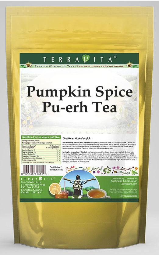 Pumpkin Spice Pu-erh Tea