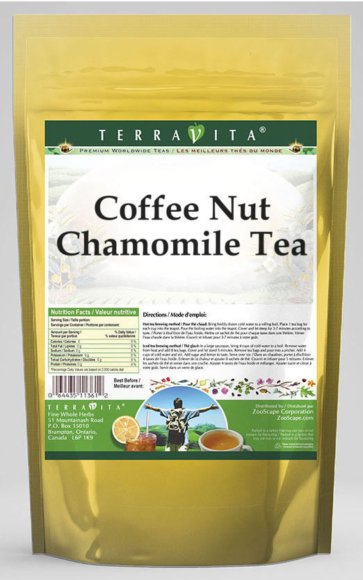 Coffee Nut Chamomile Tea
