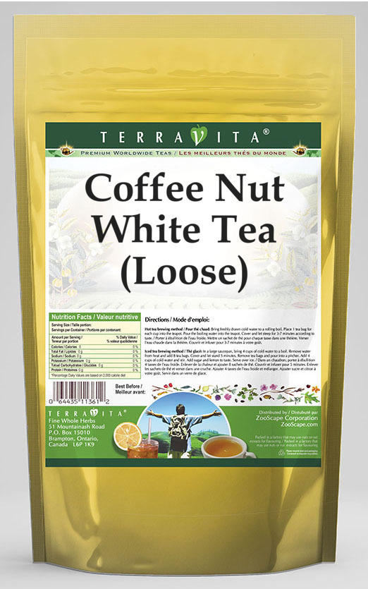 Coffee Nut White Tea (Loose)