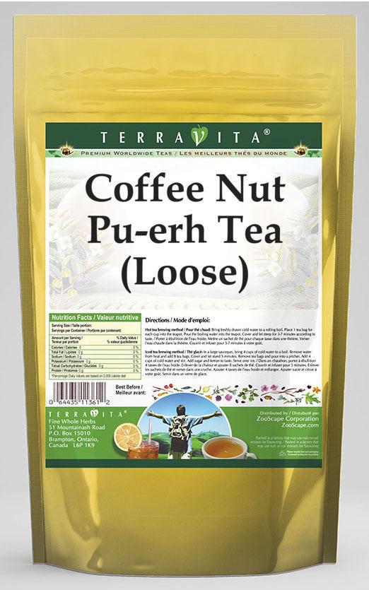 Coffee Nut Pu-erh Tea (Loose)