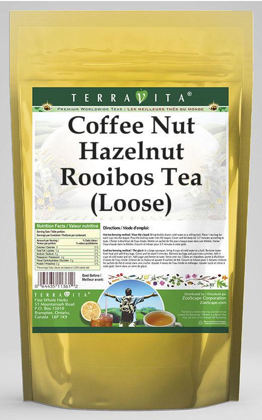 Coffee Nut Hazelnut Rooibos Tea (Loose)