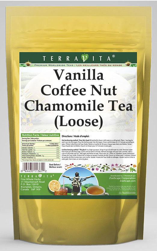 Vanilla Coffee Nut Chamomile Tea (Loose)