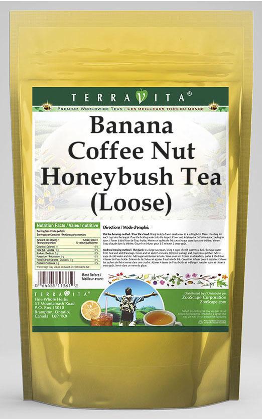 Banana Coffee Nut Honeybush Tea (Loose)
