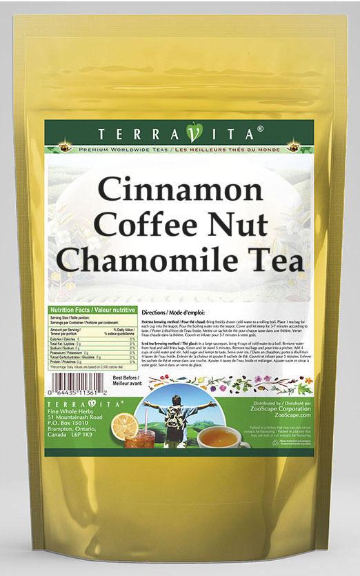 Cinnamon Coffee Nut Chamomile Tea
