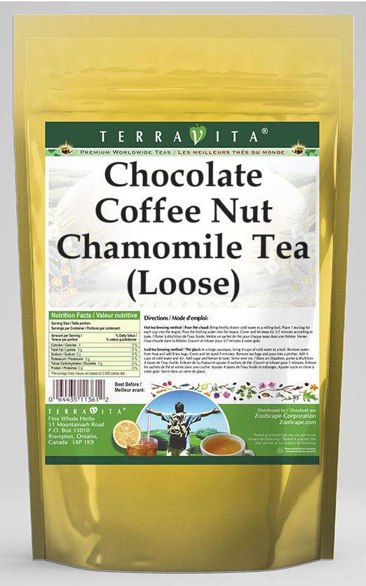 Chocolate Coffee Nut Chamomile Tea (Loose)
