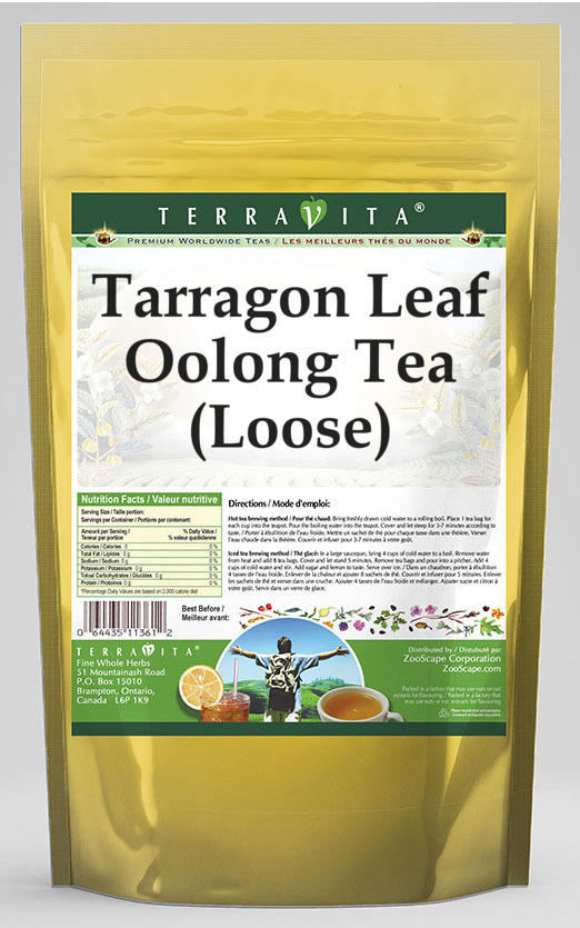 Tarragon Leaf Oolong Tea (Loose)