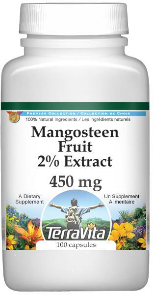 Mangosteen Fruit 2% Extract - 450 mg