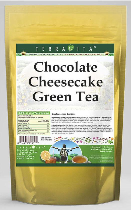 Chocolate Cheesecake Green Tea