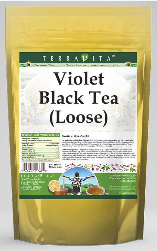 Violet Black Tea (Loose)