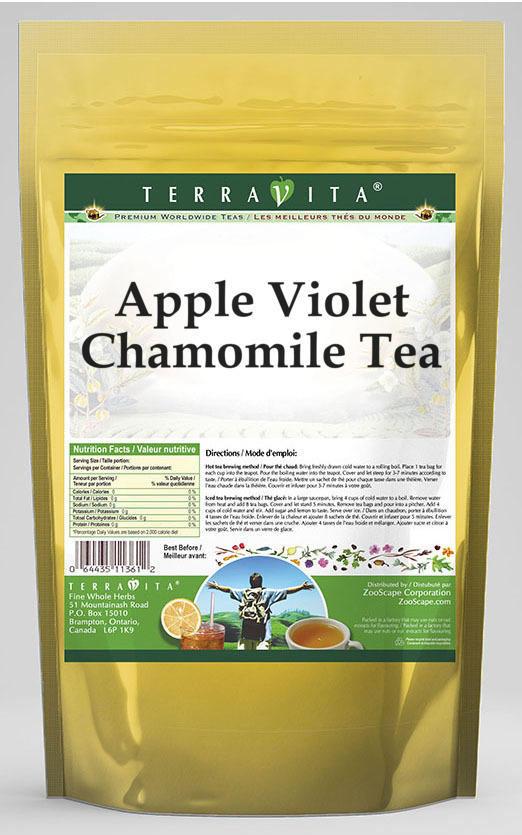 Apple Violet Chamomile Tea