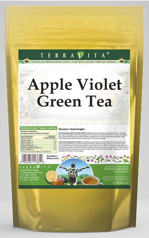 Apple Violet Green Tea