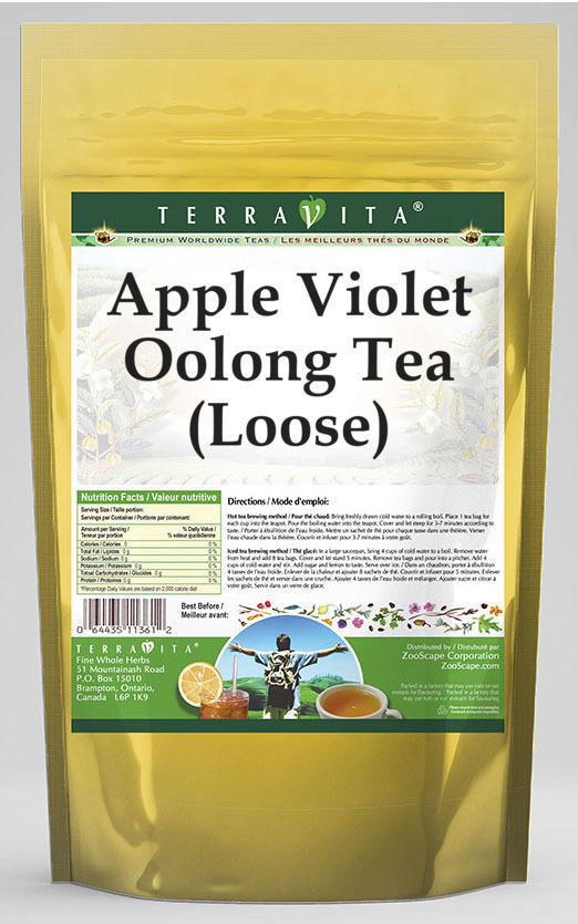 Apple Violet Oolong Tea (Loose)