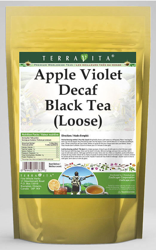 Apple Violet Decaf Black Tea (Loose)