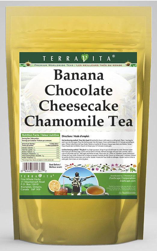 Banana Chocolate Cheesecake Chamomile Tea