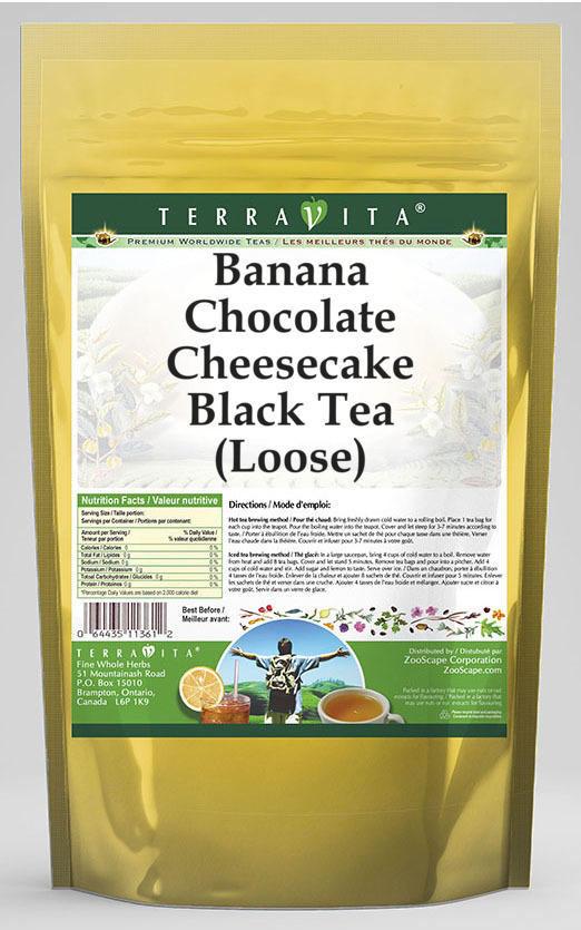 Banana Chocolate Cheesecake Black Tea (Loose)