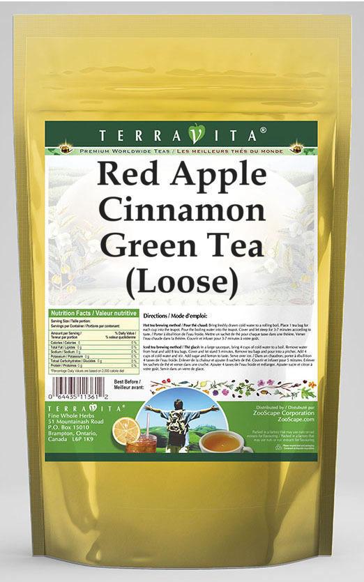 Red Apple Cinnamon Green Tea (Loose)