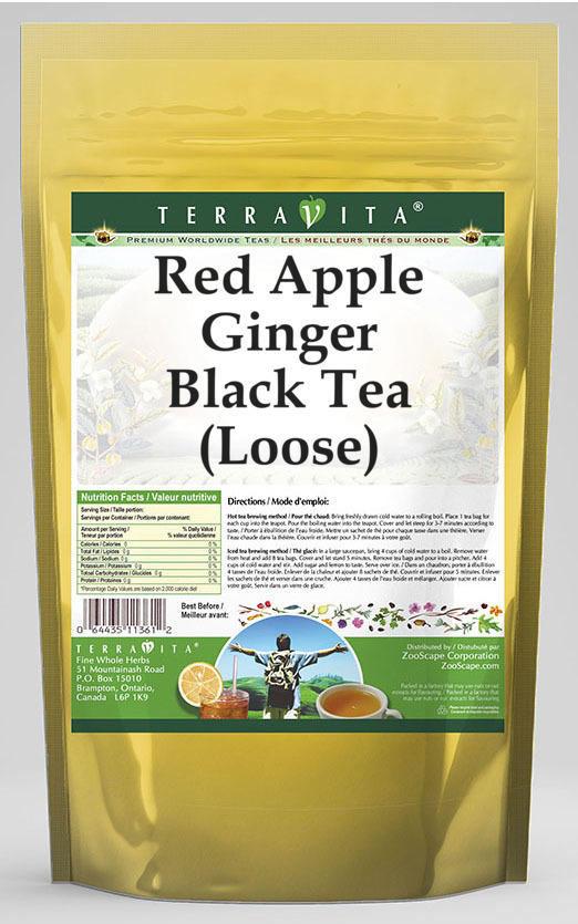 Red Apple Ginger Black Tea (Loose)