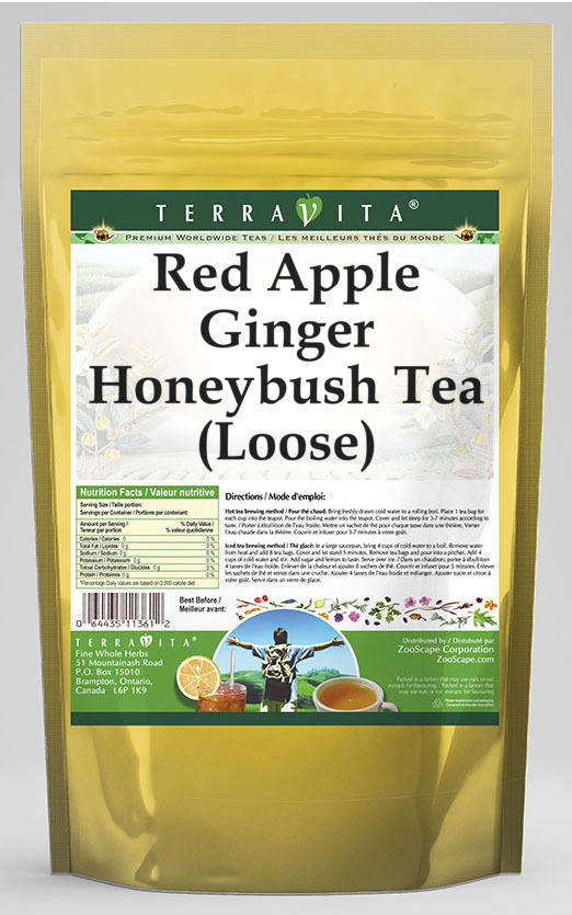 Red Apple Ginger Honeybush Tea (Loose)