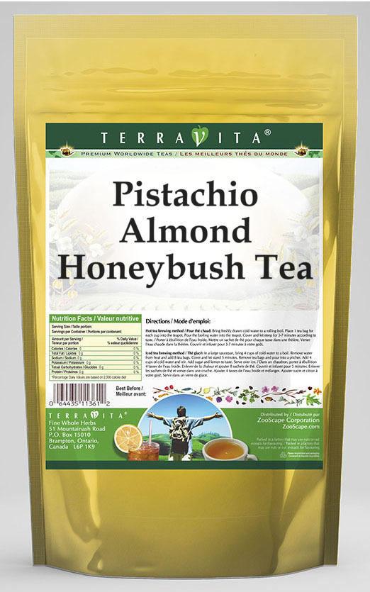 Pistachio Almond Honeybush Tea