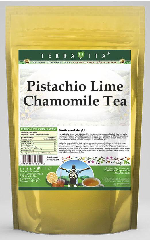Pistachio Lime Chamomile Tea
