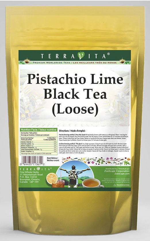 Pistachio Lime Black Tea (Loose)