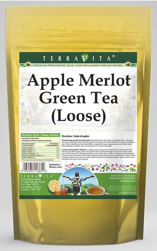 Apple Merlot Green Tea (Loose)