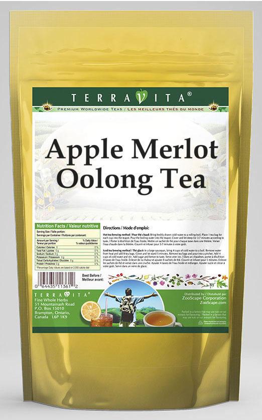 Apple Merlot Oolong Tea