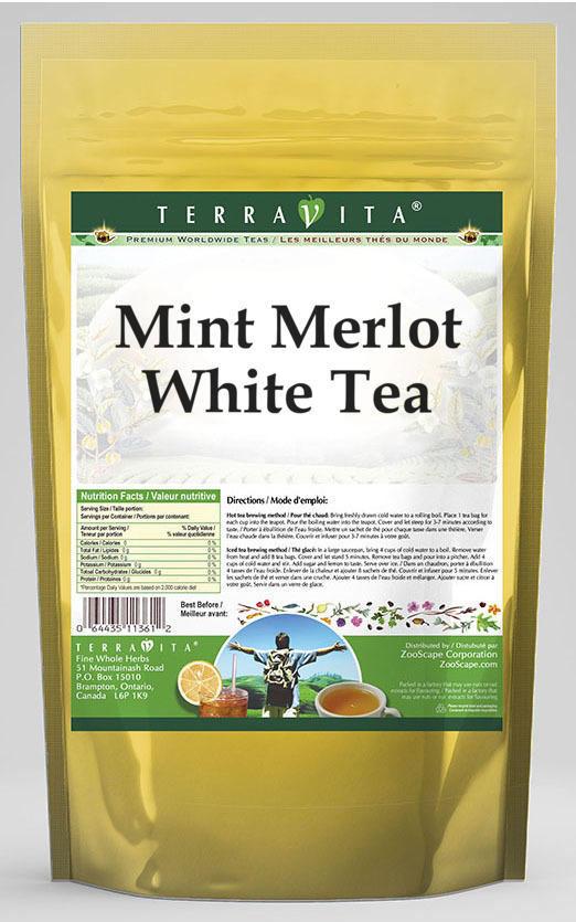 Mint Merlot White Tea