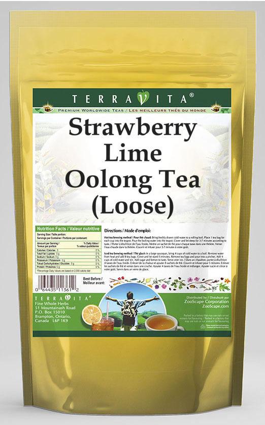 Strawberry Lime Oolong Tea (Loose)