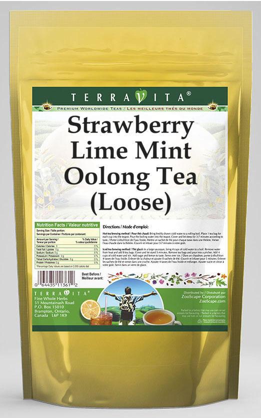 Strawberry Lime Mint Oolong Tea (Loose)