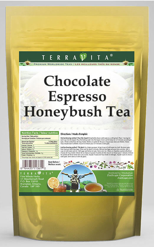 Chocolate Espresso Honeybush Tea