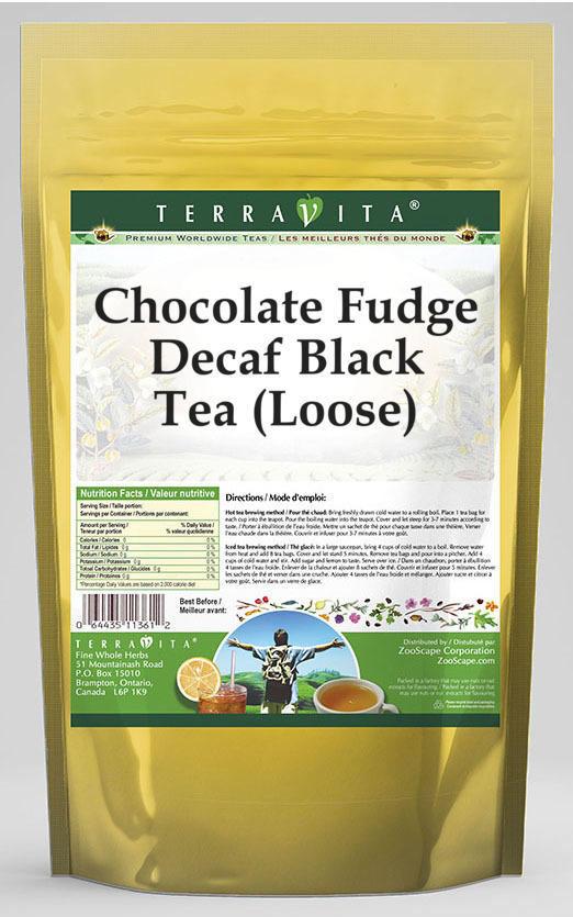 Chocolate Fudge Decaf Black Tea (Loose)