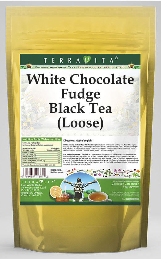 White Chocolate Fudge Black Tea (Loose)