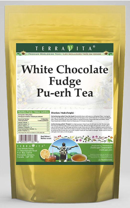 White Chocolate Fudge Pu-erh Tea