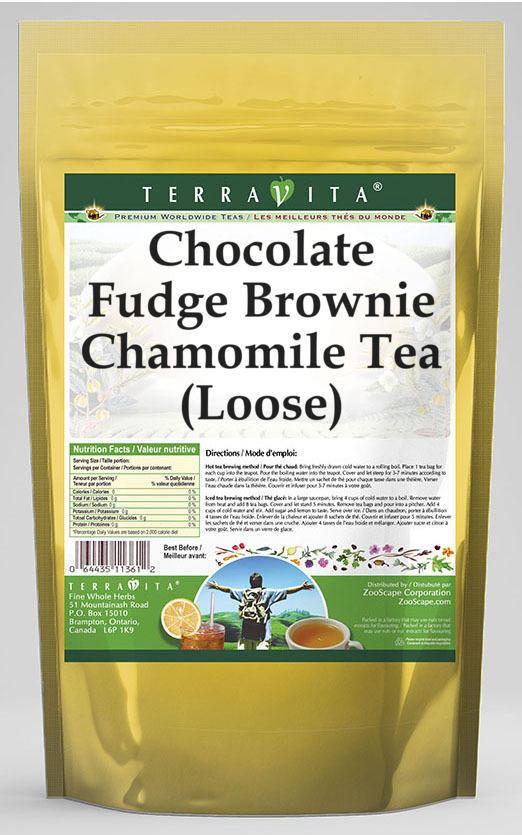 Chocolate Fudge Brownie Chamomile Tea (Loose)