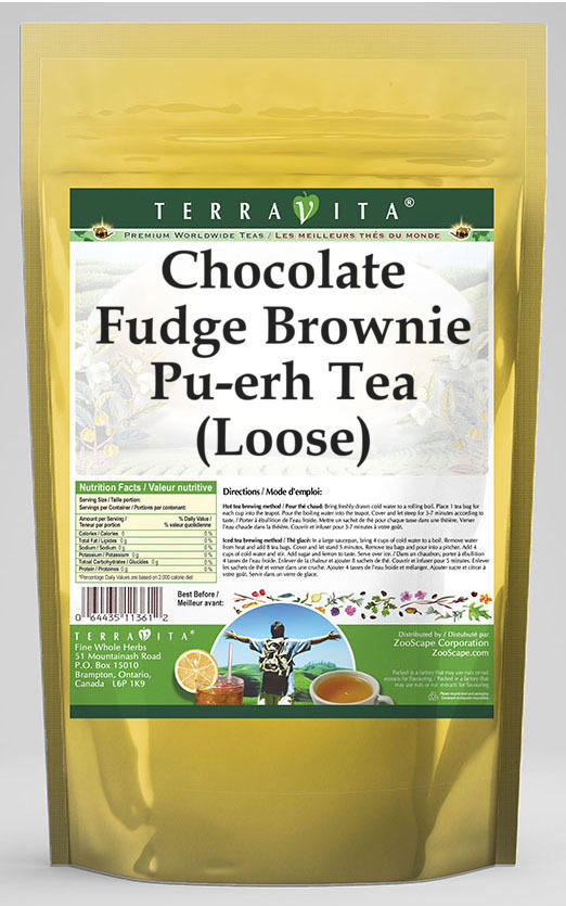 Chocolate Fudge Brownie Pu-erh Tea (Loose)