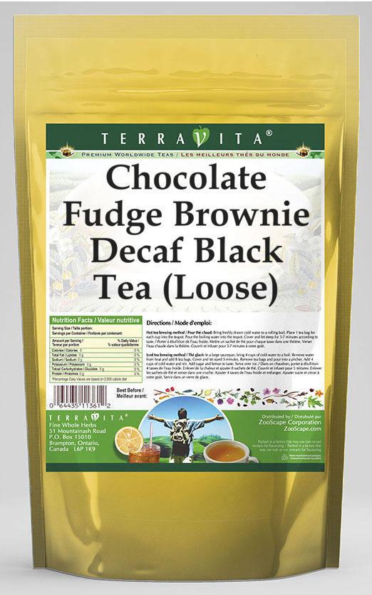 Chocolate Fudge Brownie Decaf Black Tea (Loose)