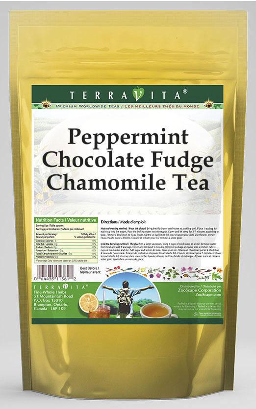 Peppermint Chocolate Fudge Chamomile Tea