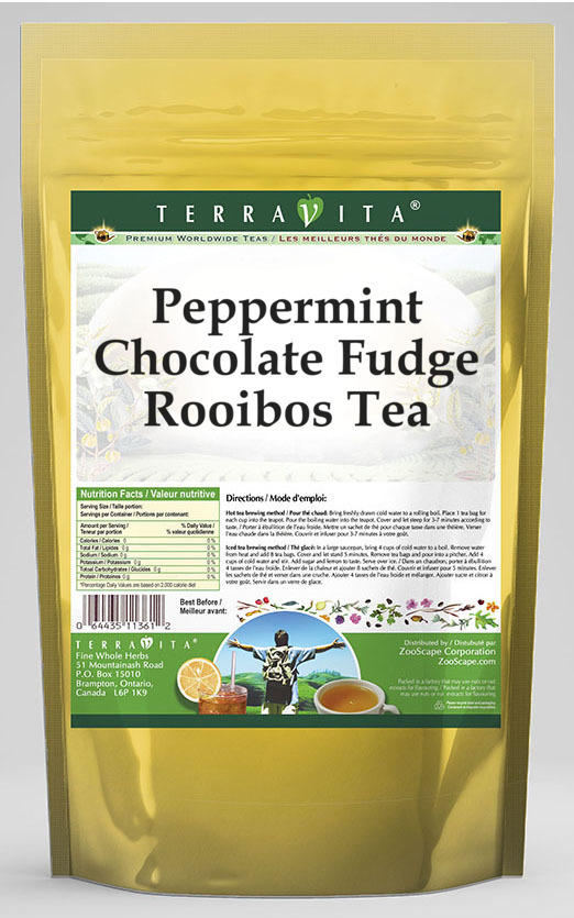 Peppermint Chocolate Fudge Rooibos Tea